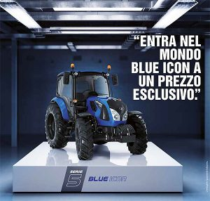 LANDINI SERIE 5-100 BLUE ICON      DISPONIBILE CON KIT CREDITO D'IMPOSTA 4.0